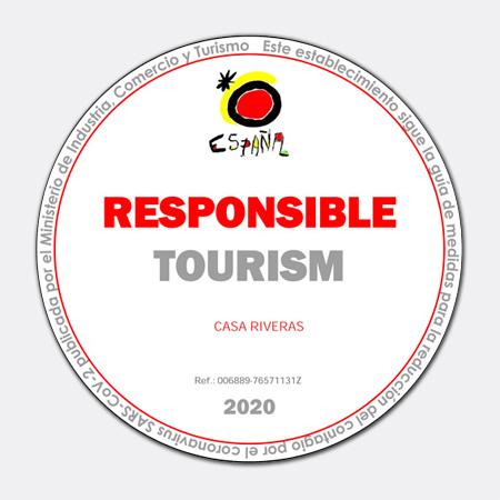 Por Un Turismo Seguro con SARS-CoV2. CASA RIVERAS